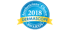 2018 Dermascope Aestheticians' Choice Awards Winner