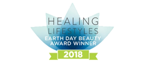2018 Healing Lifestyles Earth Day Beauty Award Winner
