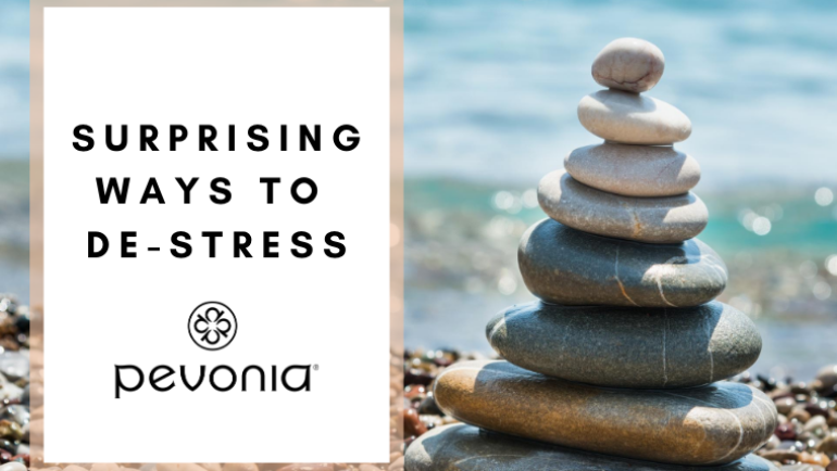 Surprising Ways to De-Stress . . . and there's a Mask for that!